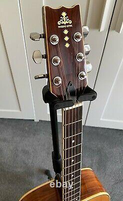Vintage 1970s Takharu Wk-300 (kiso Suzuki) Guitare Acoustique Fabriquée Au Japon