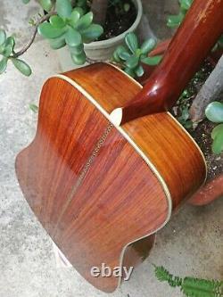 Vintage 1974 K. Yairi Yw-130 Guitare Acoustique Made Japan Mij Rosewood Martin D-28