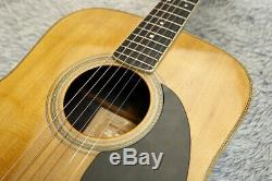 Vintage 1974 Vintage Guitare Acoustique K Yairi Yw-500r Table En Épicéa Massif Fabriqué Au Japon