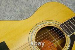 Vintage 1979 Label Orange Guitare Acoustique Yamaha Fg-202b Fabriqué Au Japon