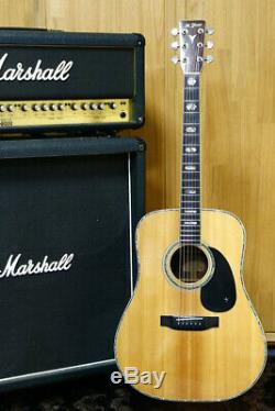 Vintage 1979 Vintage Guitare Acoustique K-600 Yairi Yw Fait En Épicéa Massif Au Japon