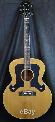 Vintage 70s Aria 9440 Everly Brothers J200 Copy Acoustic Guitar Made In Japan