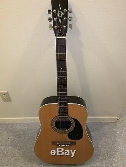 Vintage Alvarez 5023 1970 Guitare Acoustique Made In Japan Excellent État