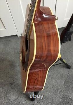 Vintage Années 1970 Takeharu Wk-200 (kiso Suzuki) Guitare Acoustique Made In Japan