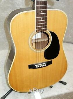 Vintage De 1970 Sigma Mij Made In Japan Dr-7 Guitare Acoustique