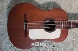Vintage Des Années 1960 Guild Mark 1 Guitare Acoustique Classique Fait Hoboken Nj Acajou