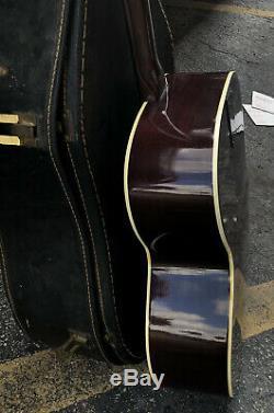 Vintage Epiphone No-180 Guitare Acoustique Naturelle Série # 670124 Fabriqué Au Japon