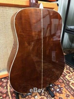 Vintage Fender F-55-12 Gauchère 12 Cordes Guitare Acoustique Made In Japan Mij