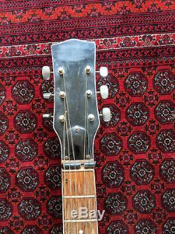 Vintage Guitare Acoustique E-mod Ero. 606 Dakota. Made In Recanati Italie