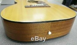 Vintage Guitare Acoustique Harmony H-162 USA Fabriqué En Acajou Orig Silber Case Bracelet