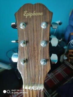 Vintage Guitare Epiphone Fr200 Acoustique Made In Corée
