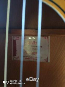 Vintage Harmony Stella Guitare Acoustique Avec Orginal Cas, Made In USA