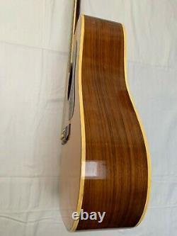 Vintage Kiso Suzuki 9512 Guitar Entièrement Circa Early Entièrement Rénové Dans Made In Japan 70