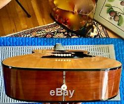 Vintage Made In Japan Guild Madere A-1 Importation Ligne Guitare Acoustique
