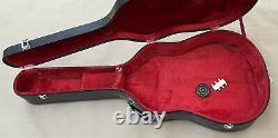 Vintage Morris Acoustic Guitar Model A-14 Fabriqué Au Japon Avec Boîtier