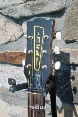 Vintage Original Made In Italy Eko Ranger 6 Acoustic Guitar! Plays Great