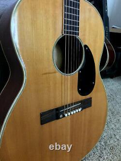 Vintage Prestige Finition Naturelle Guitare Acoustique 6-string Fabriqué Au Japon
