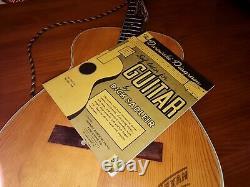 Vintage Rare Eko 1960 Texan Acoustic 6 String Guitar, Made In Italy