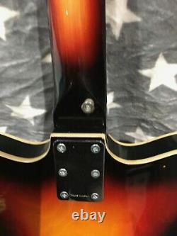 Vintage Semi Acoustic Commodore Bass Guitar (made In Japan)