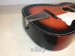 Vintage Sunburst Astro Guitare Made Harmony USA