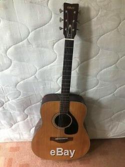 Vintage Yamaha Fg180 Guitare Acoustique Made In Japan Label Rouge Nippon Gakki