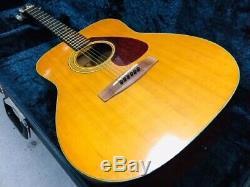 Vintage Yamaha Fg-200 Guitare Acoustique Nippon Gakki Made In Japan Utilisé