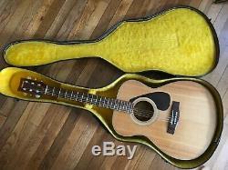 Vintage Yamaha Fg-331 Guitare Acoustique Grand Concert Réalisées Entre 1977 Et 1981