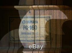 Vintage Yamaha Nippon Gakki Fg-160 Fabriqué Au Japon Circa 1972 Entièrement Remis À Neuf
