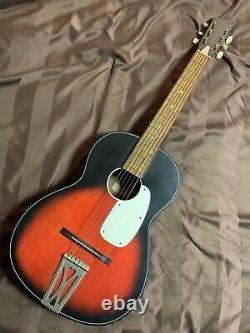 Vtg Guitare Acoustique Fabriquée Aux États-unis Model 100 Blues Diapositive 1940s 1950 Stella Rare