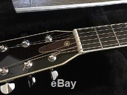 Yamaha Fg340 Acoustic Guitar Concert 1970 Made In Taiwan Et Originale Dur Cas