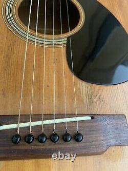 Yamaha Fg75 Vintage Et Rare Début 70 Guitare Acoustique Nippongakki Fabriqué Au Japon