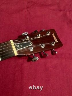 Yamaha Fg-180 Nippon Gakki Red Label Guitare Acoustique Des Années 1960-1970 Made In Japan