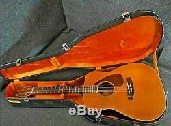 Yamaha Fg-450 Guitare Vintage Acoustiques 1973s Par Hamamatsu Usine Fabriqués Au Japon
