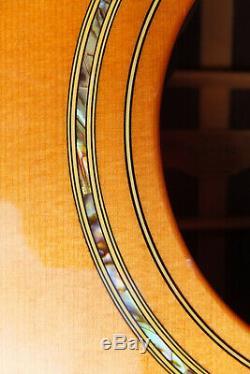 Yamaha Ls-500 Guitare Acoustique Et Originale Cas Made In Japan