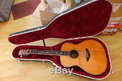 Yamaha Ls-500 Guitare + Housse, En Palissandre Massif Épicéa Fabriqué Au Japon