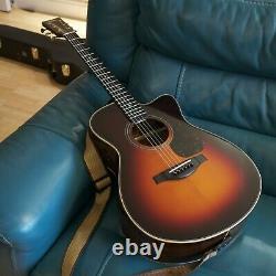 Yamaha Lsx26c Are II Fabriqué À La Main Au Japon Guitare Acoustique, Avec Micro